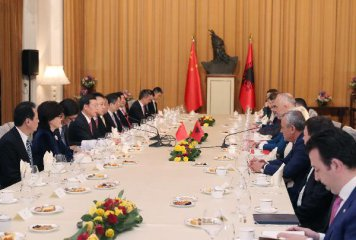 China, Albania agree to expand cooperation under Belt&Road, 16+1 framework