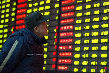 Chinese shares drop on Tuesday