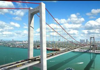 Mozambican president hails China-funded bridge