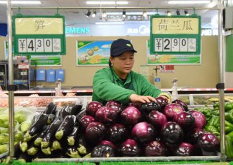 Chinas food prices continue to dip