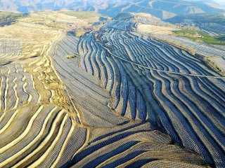 China Hebei Farming Aerial Views