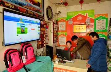 Online shopping sees steady growth in rural China