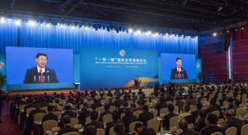 China scales up financing support for B R Initiative