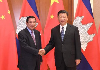 China, Cambodia vow to implement cooperation plans under OBOR