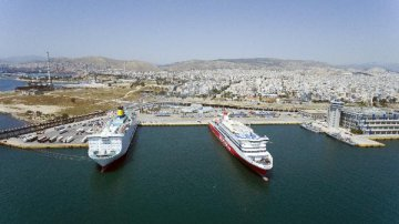 Greece open for cruise industry business: Greek shipping minister