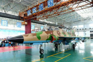 Chinas FTC-2000 aircraft export-version rolls off production line