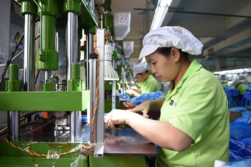 China industrial output expands 6.5 pct in May
