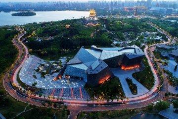 China Hebei Tangshan Aerial View
