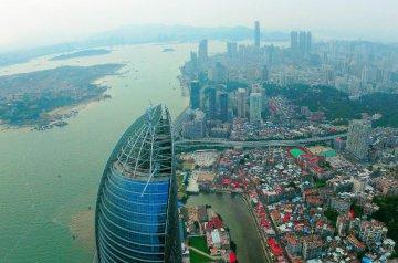 China Xiamen Drone Picture