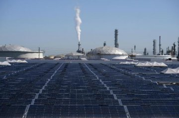 IEA: global solar installations up 50 pct last year