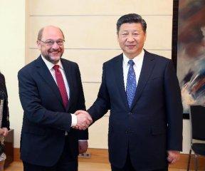 Xi says China welcomes Hamburg to participate in B R Initiative