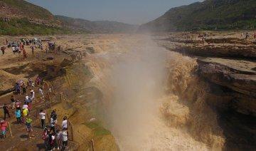 China Shaanxi Hukou Waterfall