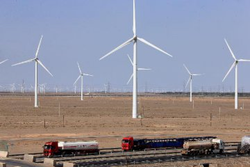 Chinas clean energy generation accelerates in first half