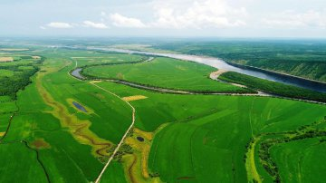 China Heilongjiang River Scenery