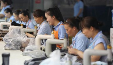 China sees steady employment in July