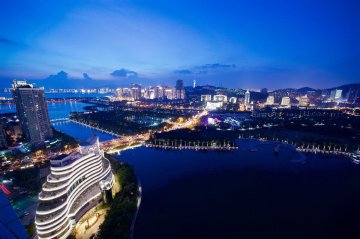 China Xiamen Night View