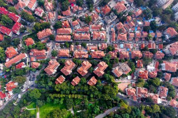 China Shandong Qingdao Aerial View