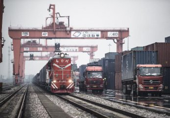 Wuhan sees 200 Sino-European freight trains this year