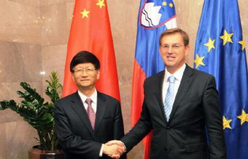 """Slovenia, China want more cooperation under Belt and Road, """"16+1 mechanism"""""""