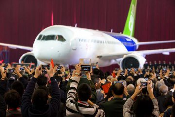 ​Chinas C919 jumbo jet receives new orders