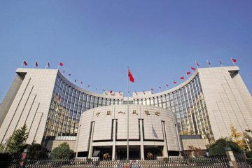 PBOC balance sheet shrinks