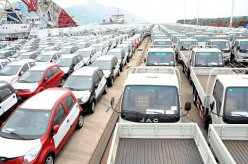 China's auto exports to B&R countries up 10.82pct in Jan-July