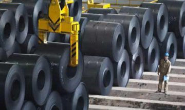 China crude steel output rises slightly in Jan-Aug