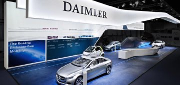 German carmaker Daimler announces corporate re-organization