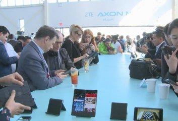 ZTE launches innovative dual-screen foldable smartphone in U.S.
