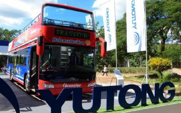 Chinese bus maker Yutong launches new vehicles in Cuba