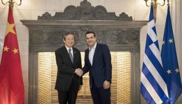 Greek PM, Chinese vice premier meet on Belt and Road cooperation