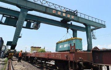 1,000 cargo train trips made between Zhengzhou, Hamburg