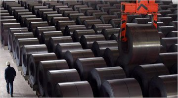 Chinas steel industry profits improve