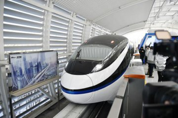 BYD, Huawei driverless monorail line launched in NW China