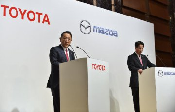 Automakers Toyota, Mazda to build joint plant in U.S.