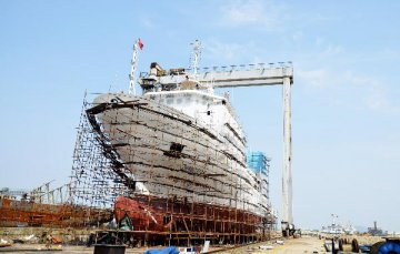 China leads 2017 global shipbuilding industry