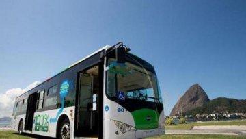 Chinas BYD to provide electric buses to Egypts Alexandria