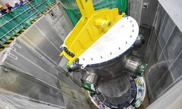 Reactor pressure vessel of Hualong One nuclear project installed in Fujian
