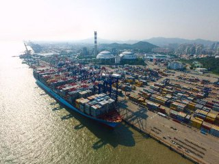 ​Chinas logistics activity shrinks in January