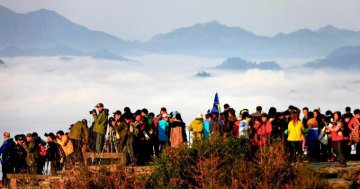 Chinas tourism revenue posts double digit growth in 2017