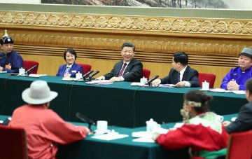 ​Chinese president stresses focus of developing high-quality economy