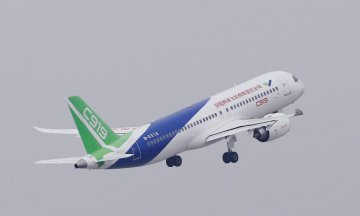 ​Over 800 Orders placed for Chinas C919 large passenger plane