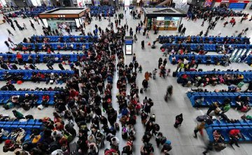 Nearly 3 bln trips recorded during Spring Festival travel rush