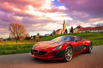 Rimac to set up a electric car JV with Camel Group