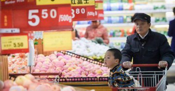 Falling food prices keep a lid on Chinas inflation
