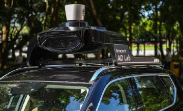 Tencent receives self-driving car license in Shenzhen