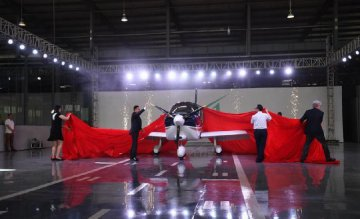 ​Chinas first airplane developed by private firm completes production