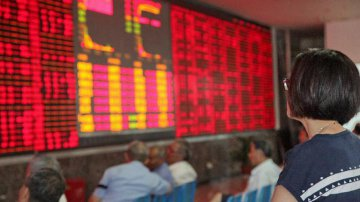 Chinese shares close mixed Tuesday