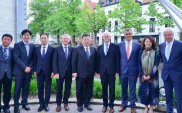 Shanghai Lingang Group to build international trade base in  Belgium