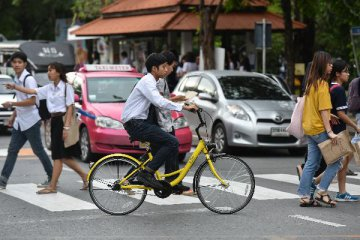 ​Bike-sharing battle accelerates